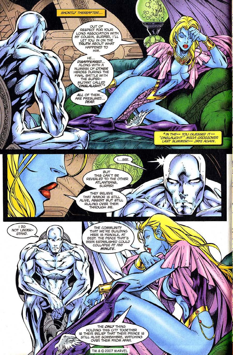 Read online Silver Surfer (1987) comic -  Issue #124 - 6