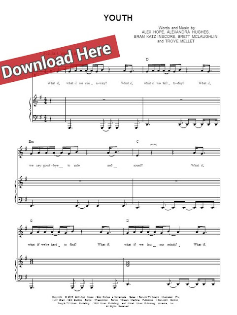 troye sivan, youth, sheet music, piano notes, score, chords, download, keyboard, guitar, tabs, bass, klavier noten, news, billboard, mtv