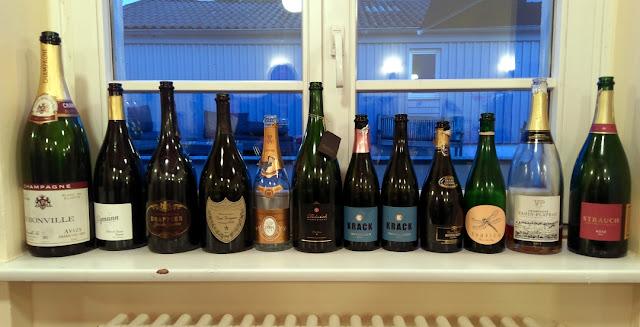 Champagner und Sekt