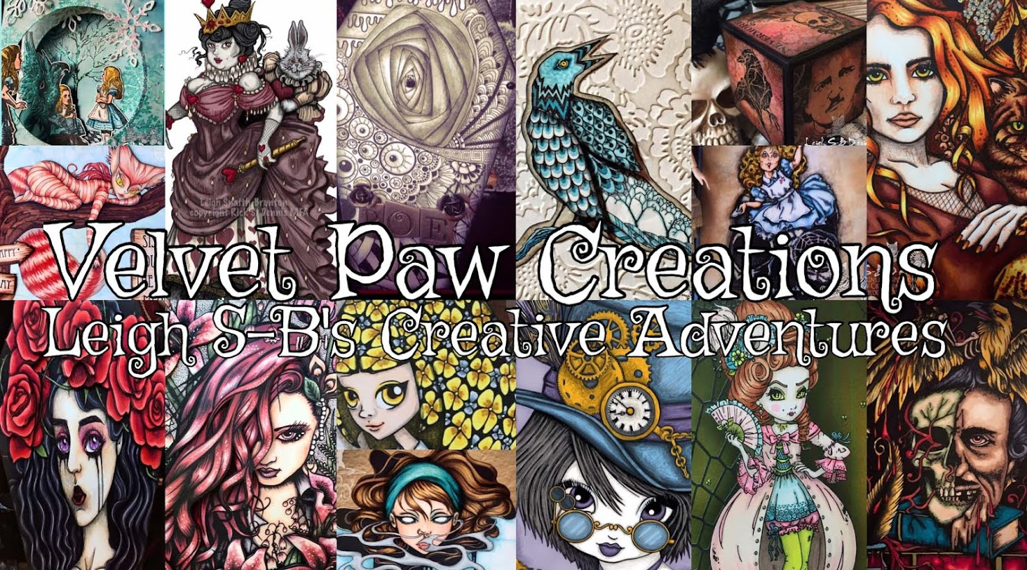 Follow Leigh's Design Team Adventures at VelvetPawCreations