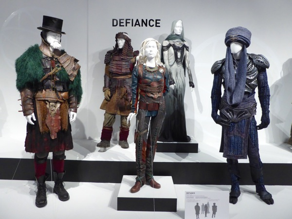 Defiance TV costume exhibit