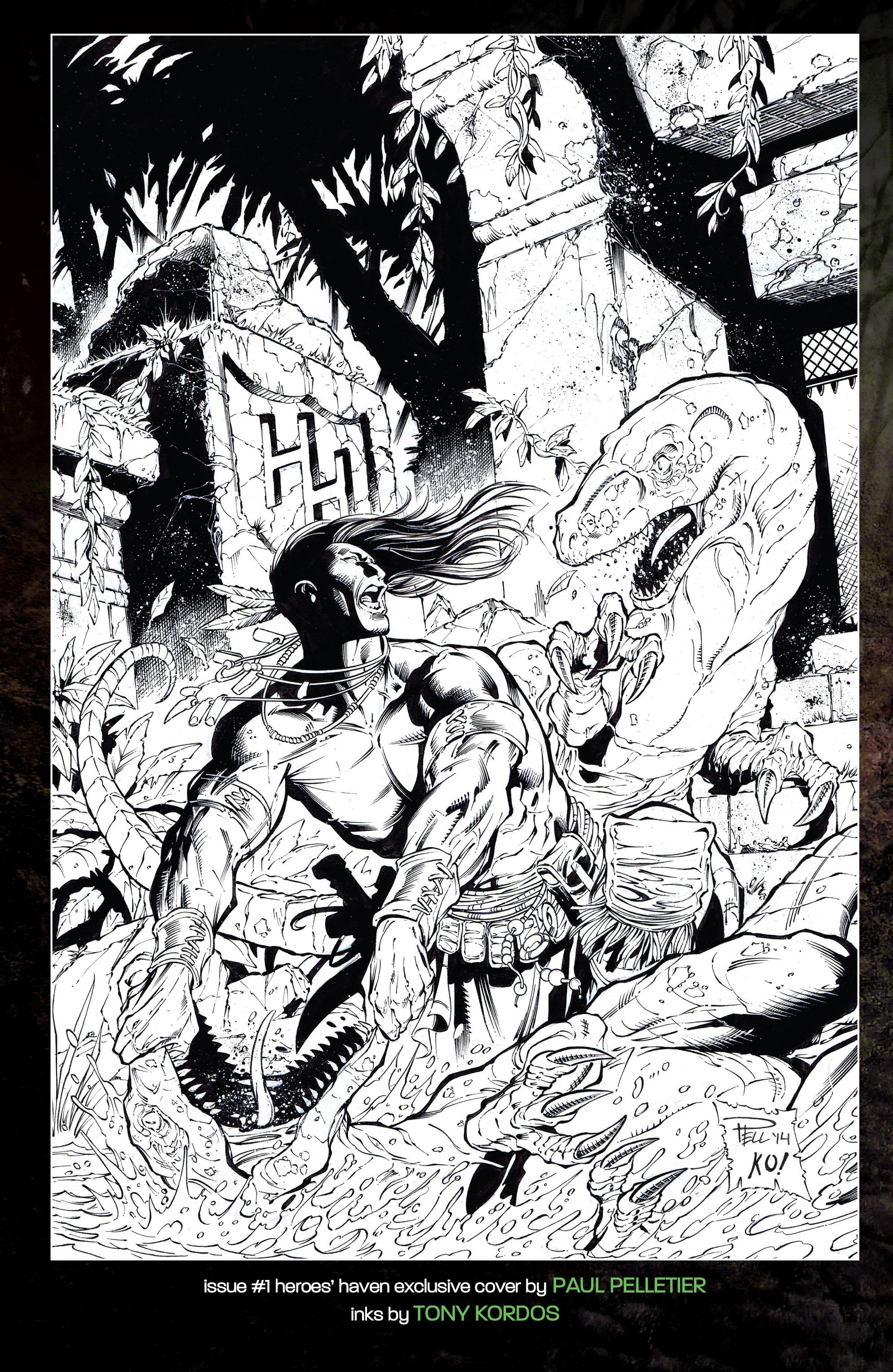 Read online Turok: Dinosaur Hunter (2014) comic -  Issue # _TPB 1 - 125