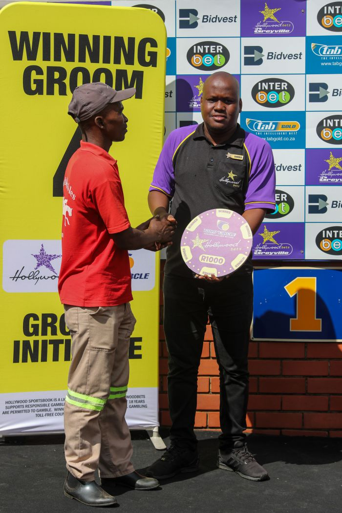 Grooms' Initiative Winners - 12th January 2020 - Race 4 - Zalekele Lumkwana - JACKSON WELLS