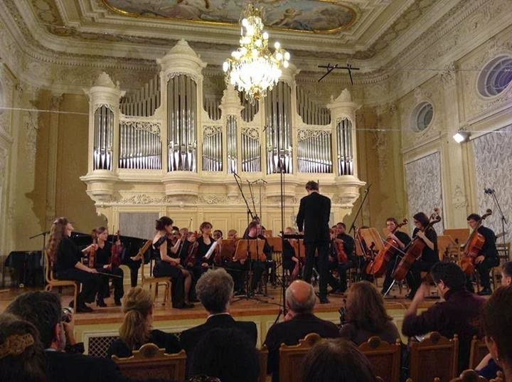 OSM CAMERATA 13th INTERNATIONAL CONCERVATOIRE FESTIVAL GLAZUNOV HALL ST. PETERSBURG