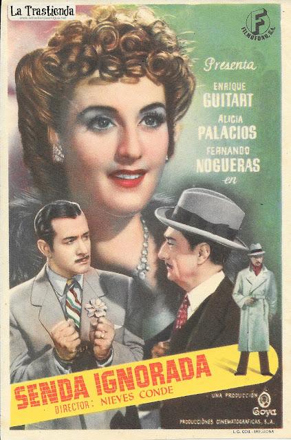 Senda Ignorada - Programa de Cine - Enrique Guitart - Alicia Palacios