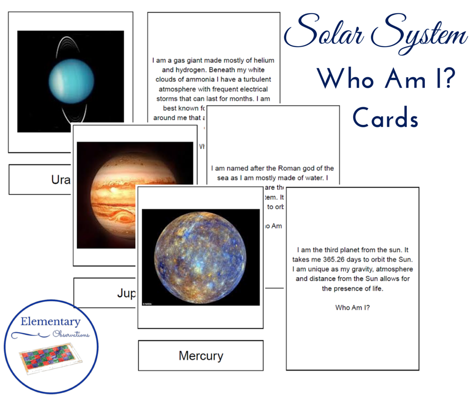 Elementary Observations: Studying the Solar System {with a ...