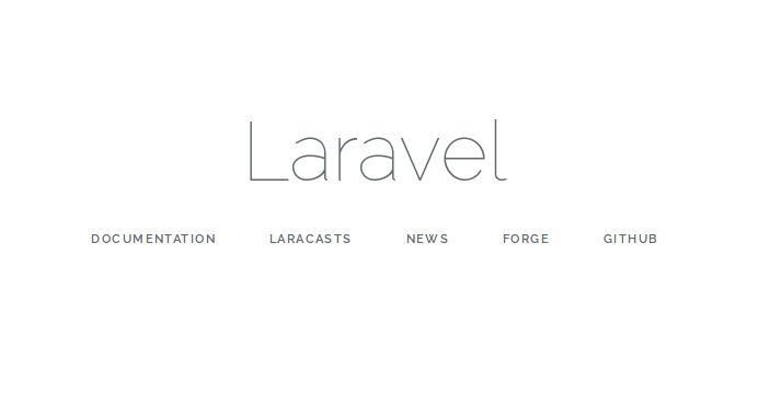 Menjalankan Laravel