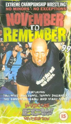 PPV REVIEW: ECW November to Remember 1999 ~ Retro Pro