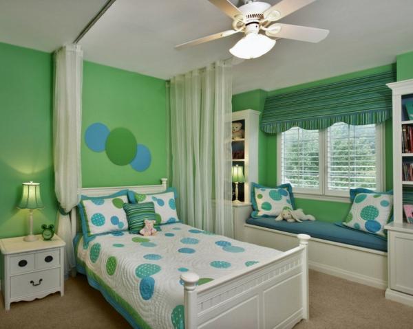 Dormitorio para ni os color verde dormitorios colores y - Colores habitacion nino ...