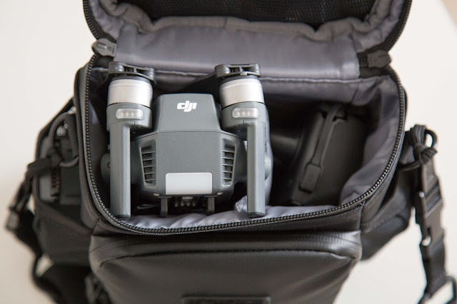Gear of the Week #GOTW KW 18  DJI Mavic Pro Umhängetasche 02