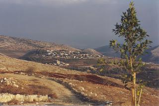 Le village d'Aïn Ebel
