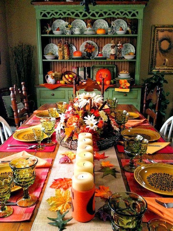 Alejandra Creatini: 17 Thanksgiving Table Setting Ideas