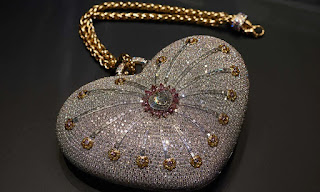 Top of the rocks: Goes on sale, the world's most expensive handbag