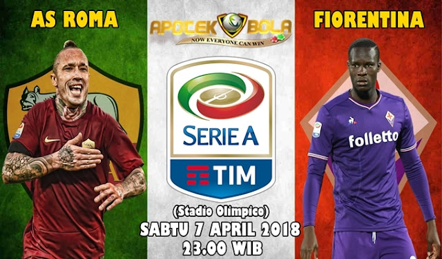 Prediksi AS Roma vs Fiorentina 7 April 2018