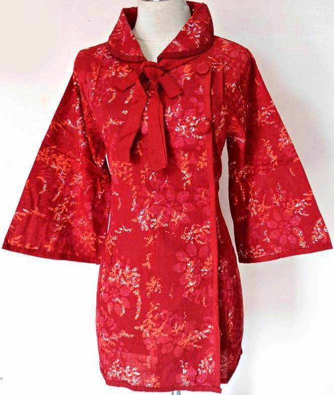 Model Baju Batik Lengan Panjang Modern: 6 Contoh Foto Model Baju Batik Lengan Panjang 2015