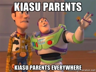 creative writing kiasuparents