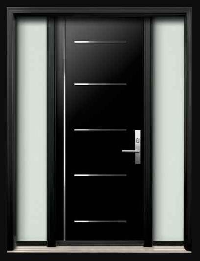 warna cat minimalis Pintu Rumah 1 Lantai