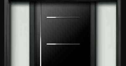 bentuk pintu rumah minimalis 1 lantai desain modern dan