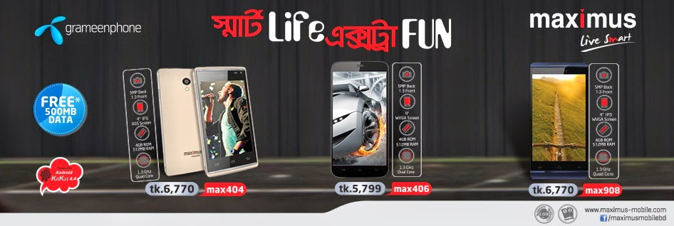 Grameenphone-Maximus-Handset-Offer-Max-404-Max-406-and-Max-908