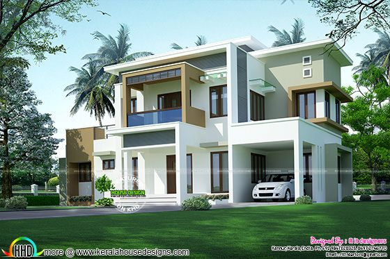 2141 box model contemporary home architecture