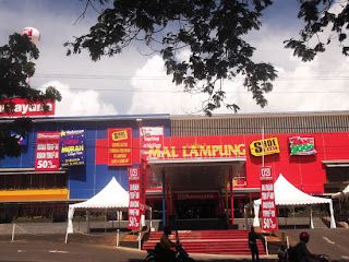Shopping at Ramayana mall in Lampung