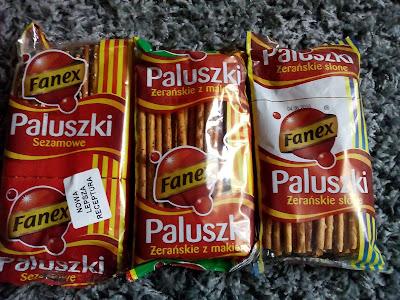 Sklep Fanex- Paluszki chrup :)