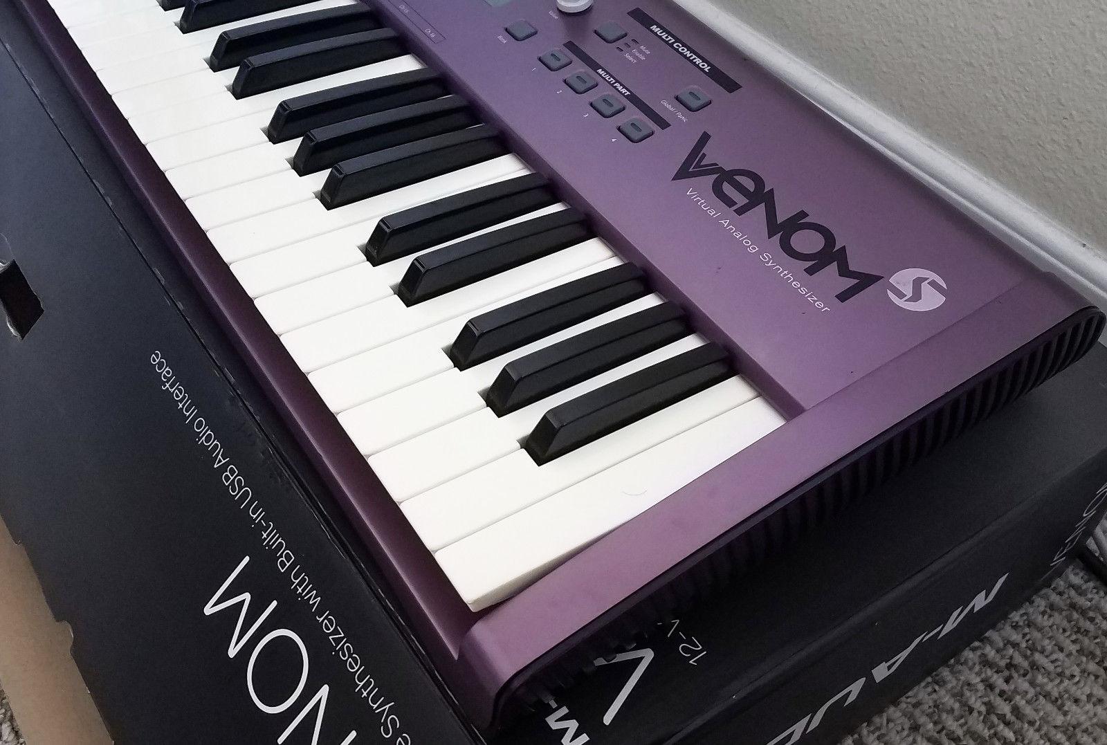 MATRIXSYNTH: Custom Purple M-Audio Venom 12 Voice Virtual