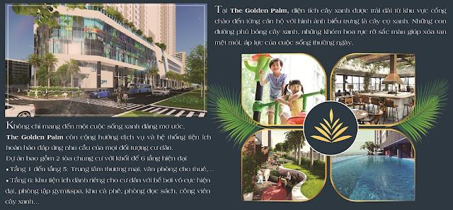 Tiện ích sống The Golden Palm