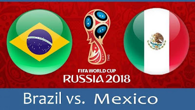 How to Watch Brazil vs Mexico World Cup 2018 Live Streaming