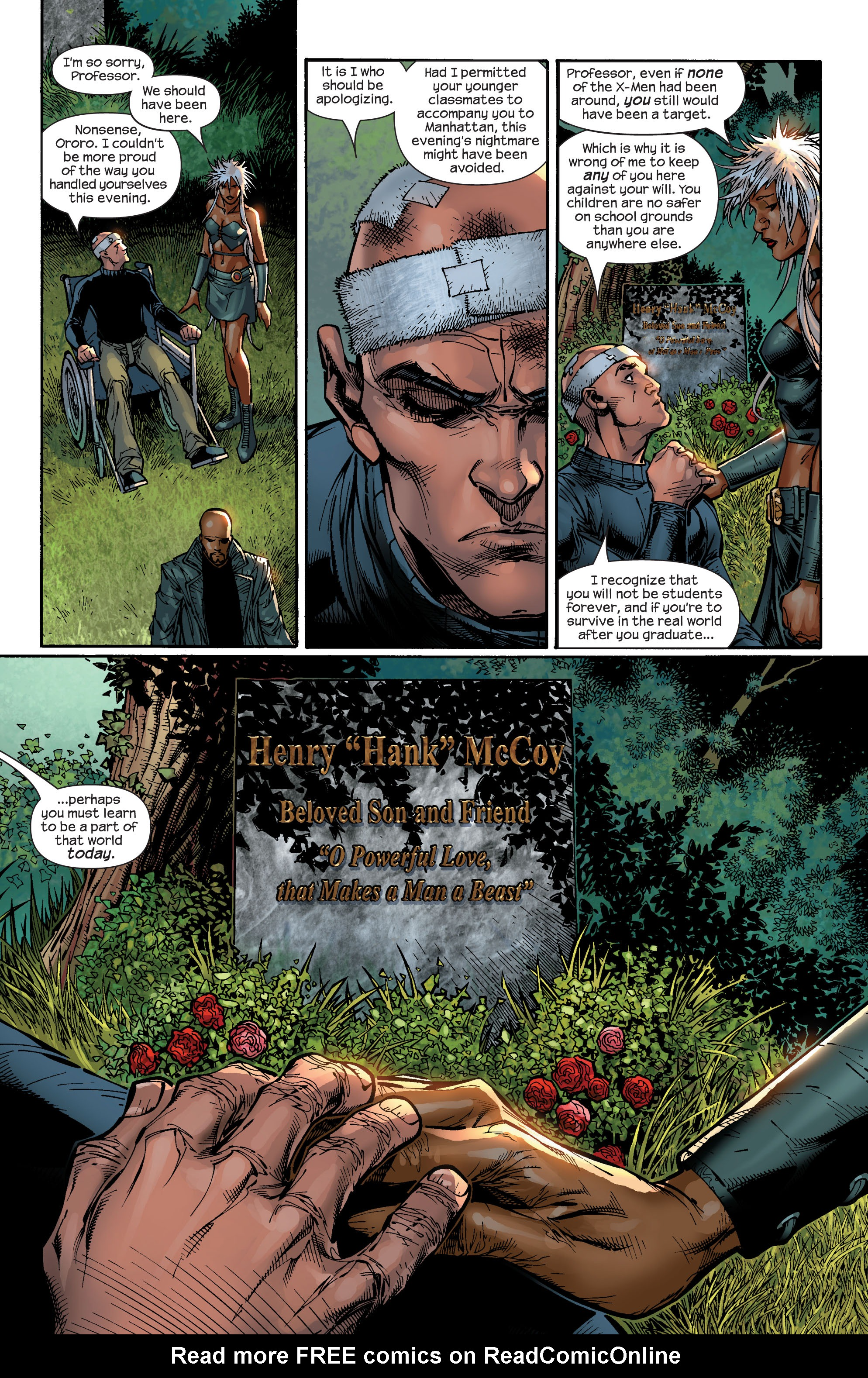 Read online Ultimate X-Men comic -  Issue #49 - 23