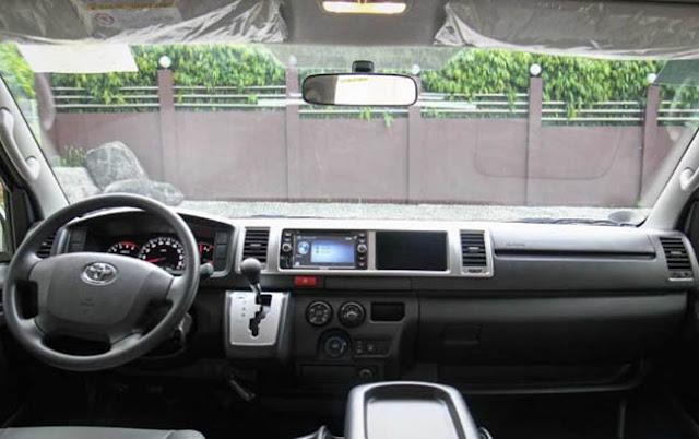 2016 Toyota Hiace Van Interior