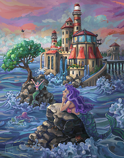 Mermaid Castle by Traci Van Wagoner