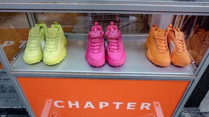 neon fila disruptor