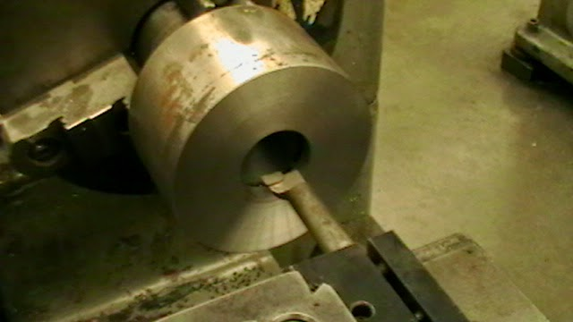 boring collet attachment for draw bar