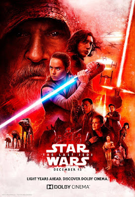 Star Wars: The Last Jedi DOLBY Cinema Movie Poster