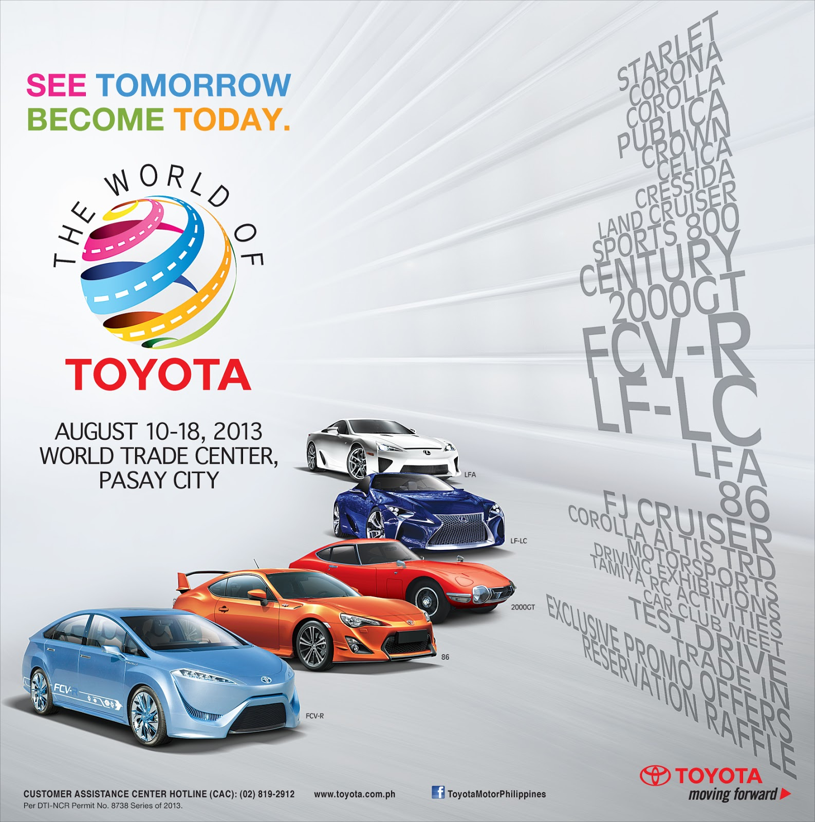 Toyota PH Holding Biggest Exclusive Motor Show, Offers Six