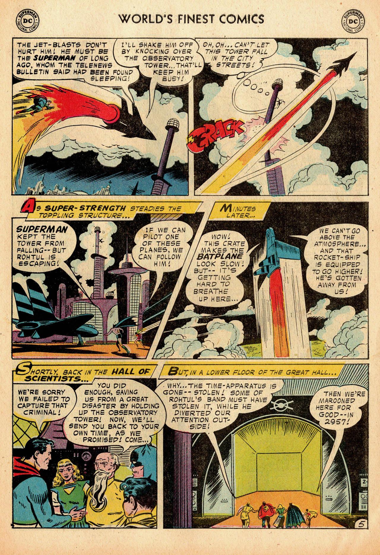 Read online World's Finest Comics comic -  Issue #91 - 7