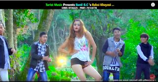 "Dancing Pop Song ""Raksi Khayesi Nachn Man Lagxa"""