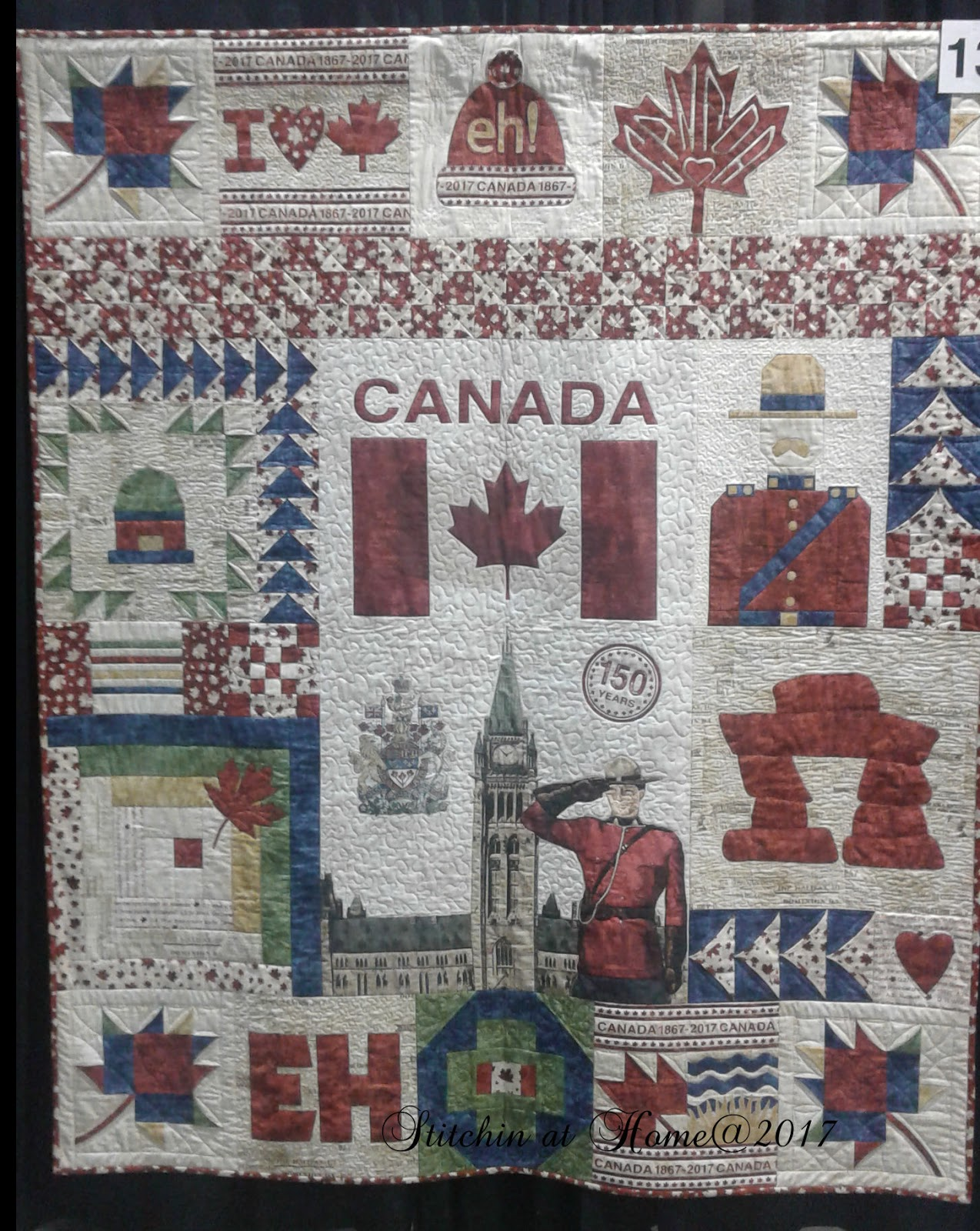 Stitchin At Home: Pictures from Quilt Canada : quilt canada - Adamdwight.com