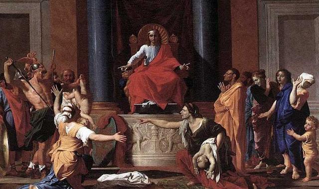 Penghakiman Nabi Sulaiman by Nicolas Poussin
