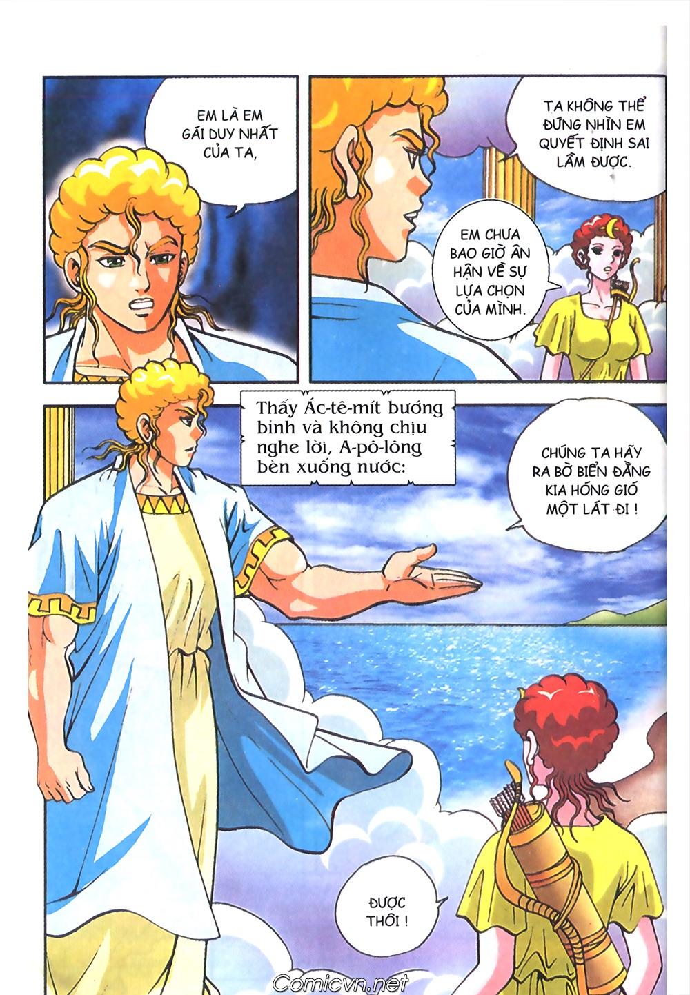 Thần Thoại Hy Lạp Màu - Chapter 58: Cuộc chiến định mệnh 2 - Pic 37