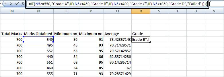 Make a Result sheet in Excel 2007 - result card format in excel
