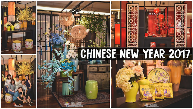 CNY Decoration Here Is So Beautiful That You Should Take Family Photo Here