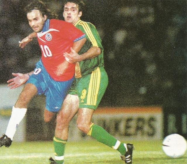 Chile y Australia en Copa Ciudad de Valparaíso, 9 de febrero de 2000