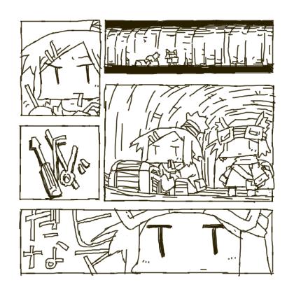 アリサとミコのダンジョン探索漫画。