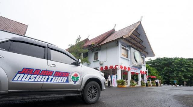 Mendes Marwan Lepas JDN untuk Jelajah Pembangunan Desa Se Nusantara