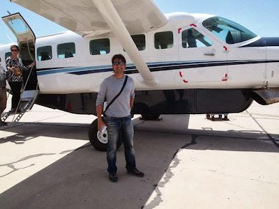 Vuelo Paracas - Nazca (Perú)
