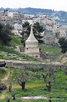 Yad Avshalom (Absalom tomb)  Valley of Josaphat