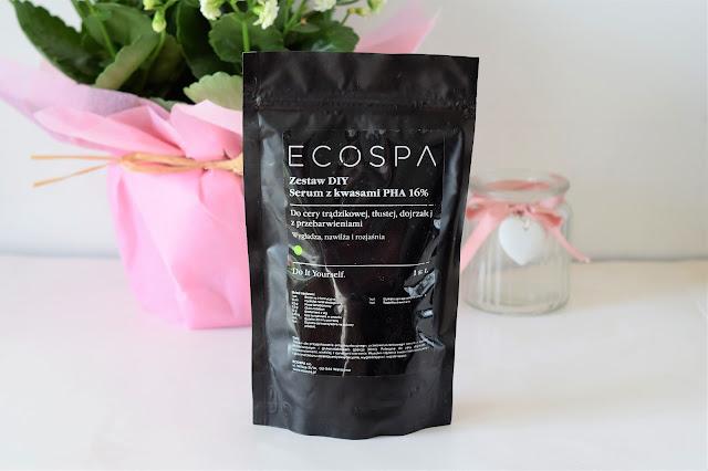 ECOSPA - SERUM Z KWASAMI PHA 16% - ZESTAW DIY