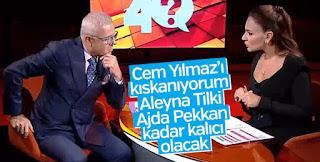 Cem Yılmaz and Aleyna Tilki's confession from Ertuğrul Özkök